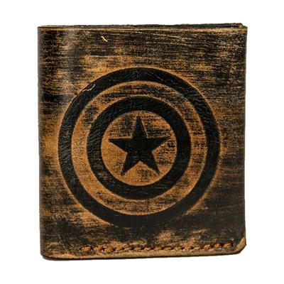 """4 Портмоне """"Голландец"""" - """"Капитан Америка"""" (т) - фото 9143"""