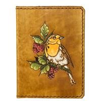 121 Птица на ветке (цвет) (п)