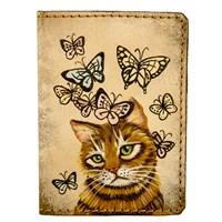 2 Кот и бабочки