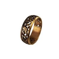 Кольцо с прорезным орнаментом (18)