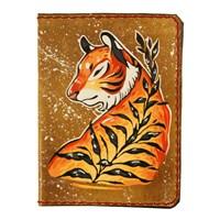 167 Тигр с веточкой